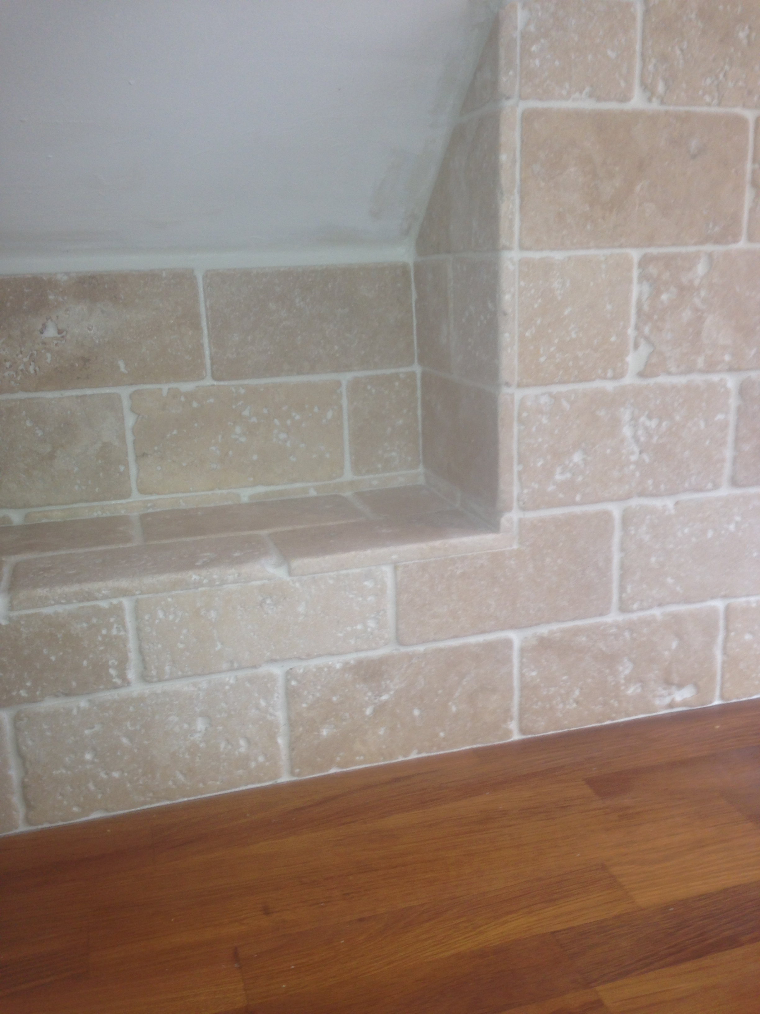 Gallery 1st choice tiling plastering travertine wall tiles kitchen oakwood leeds dailygadgetfo Image collections