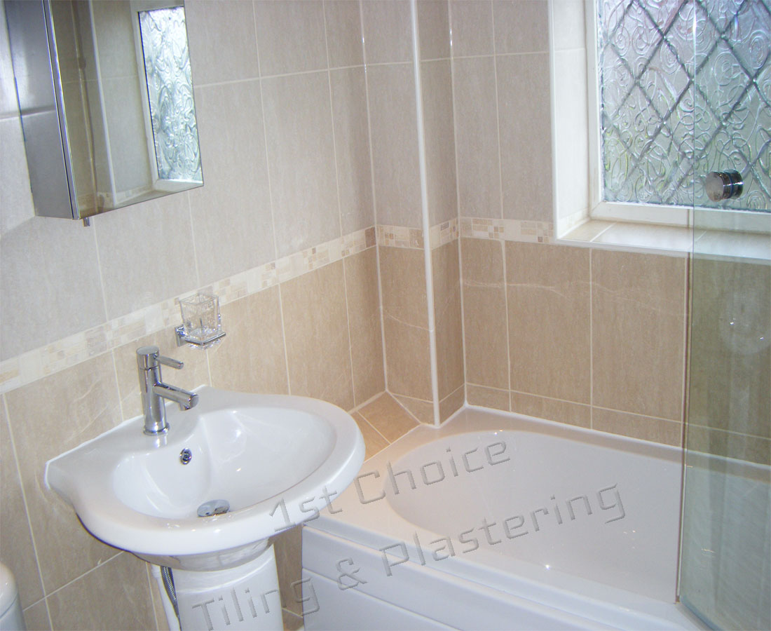 Services 1st choice tiling plastering for Full bathroom renovation